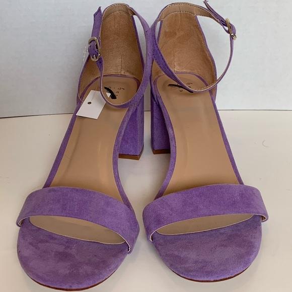 fb7b0ac75d85 A New Day Michaela Mid Block Heel Sandals Size 9.5